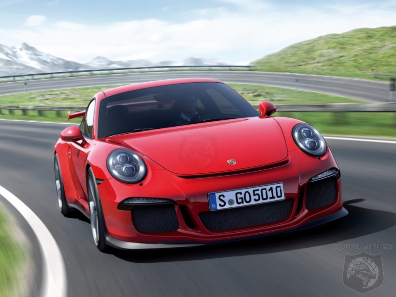 GENEVA MOTOR SHOW: Celebrates 50 Years With The Porsche Unleashes The 911 GT3